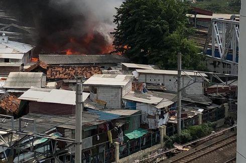 Kebakaran di Kampung Bandan Ancol Lalap Ratusan Rumah