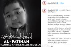 Adik Aming Salleh Meninggal Dunia, Bocah Viral yang Tirukan Gaya Ceramah Ustaz Das'ad Latif