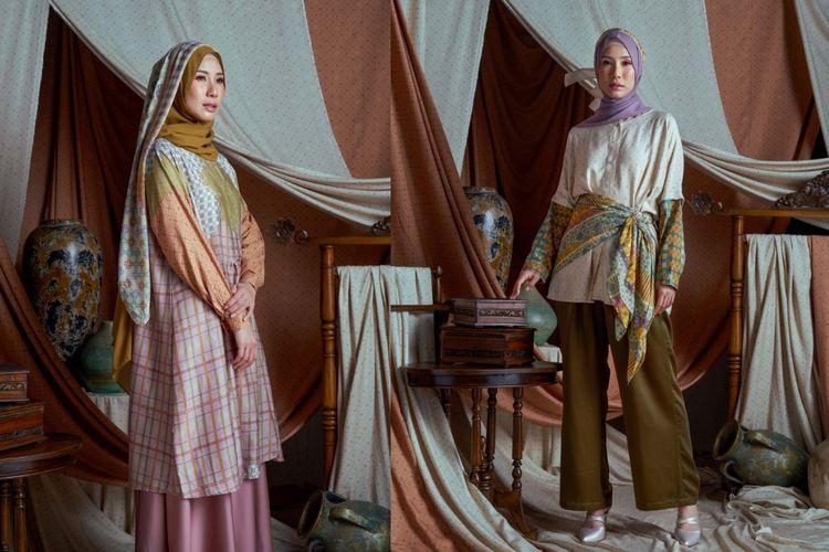 Koleksi Danastri dari RiaMiranda menyediakan pakaian wanita, pria, dan anak untuk hari raya.