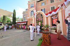 KBRI Roma Gelar Upacara Detik-detik Proklamasi Kemerdekaan Indonesia, Diwarnai Pakaian Adat