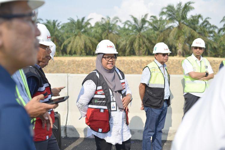 Direktur Utama PT Hutama Karya Infrastruktur Aji Prasetyanti