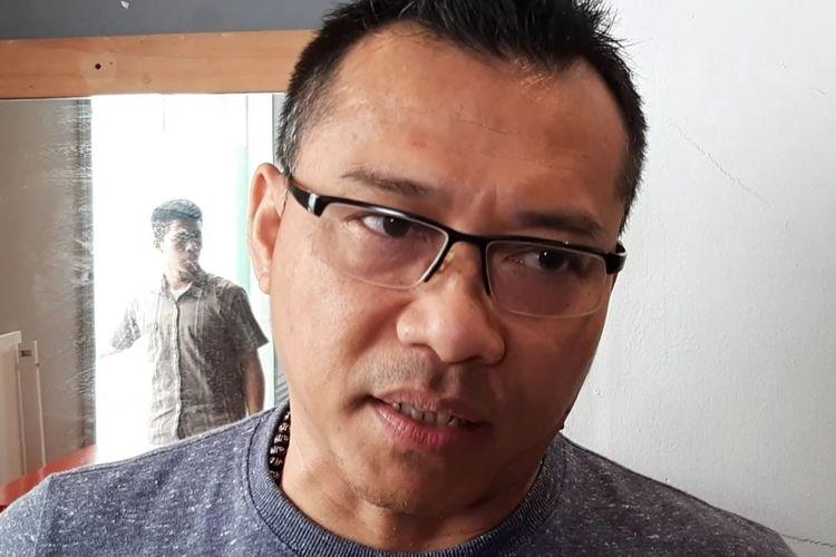 Anang Hermansyah di kawasan Pangeran Antasari, Jakarta Selatan, Sabtu (19/10/2019).