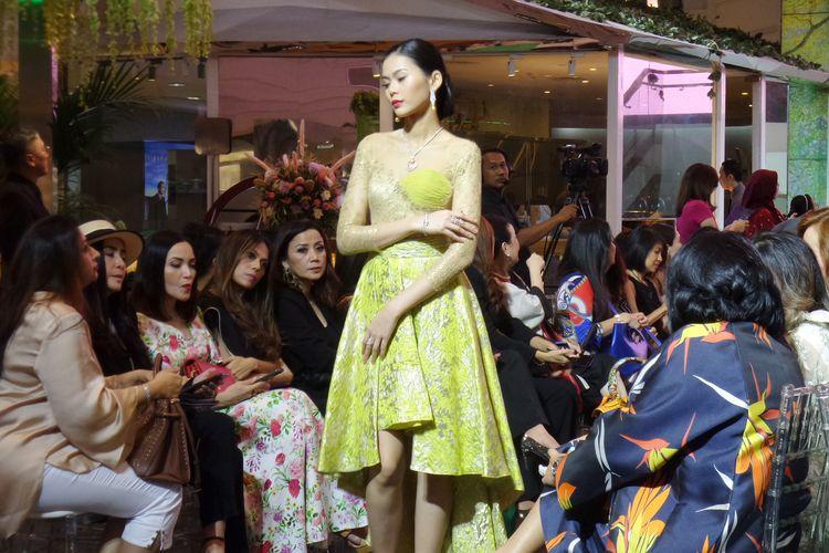 Koleksi kolaborasi Wanda House of Jewels x Ayu Mirah Signature pada gelaran Objects of Desire di Plaza Indonesia.