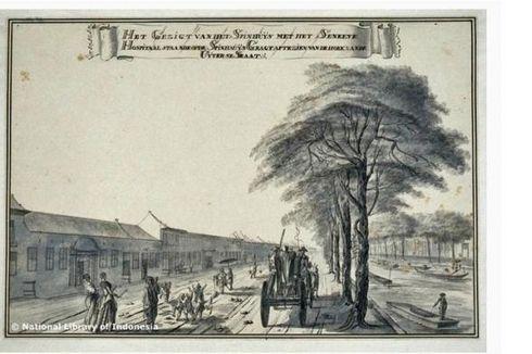 Losmen Lampu Merah, Sejarah Pelacuran di Batavia