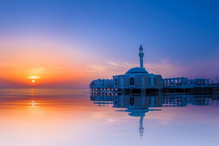 Masjid Al-Rahma di Jeddah, Arab Saudi.