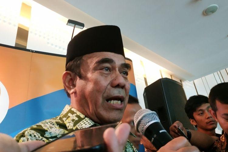 Menteri Agama Fachrul Razi di Hotel JS Luwansa, Kuningan, Jakarta Selatan, Rabu (27/11/2019).