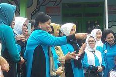 Gemasnya Iriana Jokowi Melihat