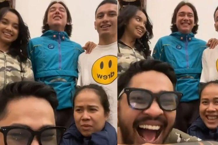 Jefri Nichol bersama Adipati, Onadio Leonardo, TJ dan penyanyi Lyodra ikut meramaikan ?Bad Romance Challenge?.