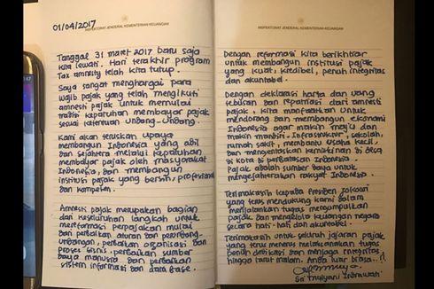 Sri Mulyani: Terima Kasih untuk Jajaran Pajak... Anda Luar Biasa..!!