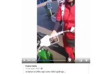 Video Viral Isi Bensin Cuma Rp 1.000, Memang Boleh? Ini Kata Pertamina