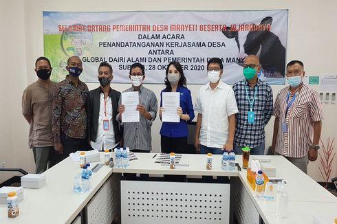 Ubah Limbah Ternak Jadi Biogas, PT Global Dairi Alami Berdayakan Desa Manyeti Subang
