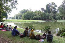 Libur Lebaran di Kebun Raya Bogor