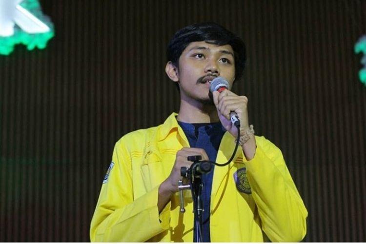 Manik Marganamahendra, mahasiswa jurusan Fakultas Kesehatan Masyarakat Universitas Indonesia (FKM UI).