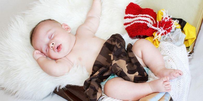5 Cara Menidurkan Bayi Yang Susah Tidur Halaman All Kompas Com