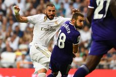 Real Madrid Vs Real Valladolid Imbang, Karim Benzema Catat Sejarah