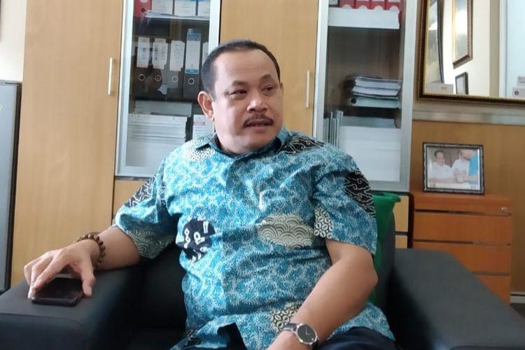 Ketua Fraksi Partai Gerindra DPRD DKI Jakarta Abdul Ghoni di Gedung DPRD DKI, Jalan Kebon Sirih, Jakarta Pusat, Rabu (6/2/2019).