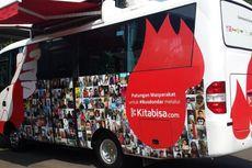 Diluncurkan, Bus Donor Darah PMI Hasil Patungan Masyarakat