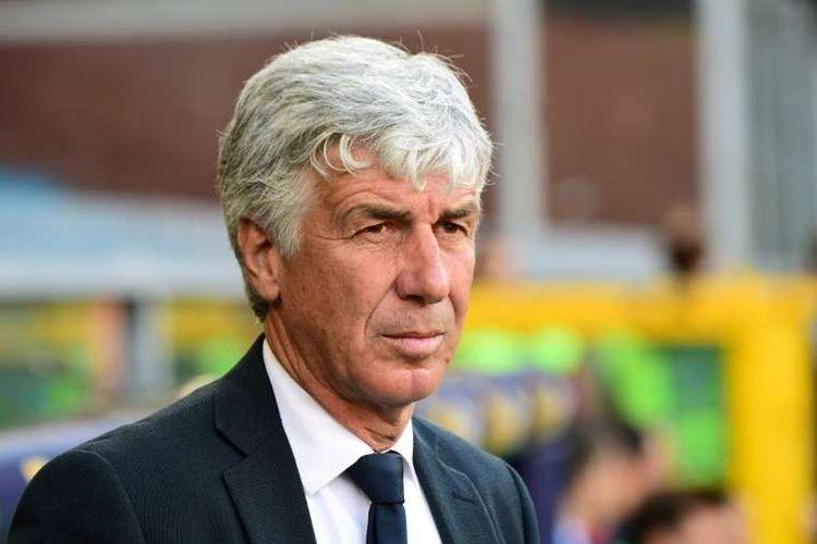 Pelatih Atalanta Bergamo, Gian Piero Gasperini.