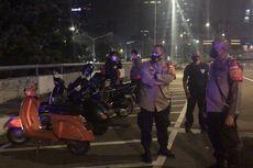 Kerumunan di Flyover Rasuna Said, Polisi Amankan Sejumlah Motor, termasuk Vespa Gembel