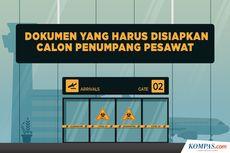 INFOGRAFIK: Dokumen yang Harus Disiapkan Calon Penumpang Pesawat
