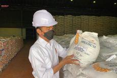 Jokowi: Stok Beras Bulog Cukup, Capai 1,3 Juta Ton
