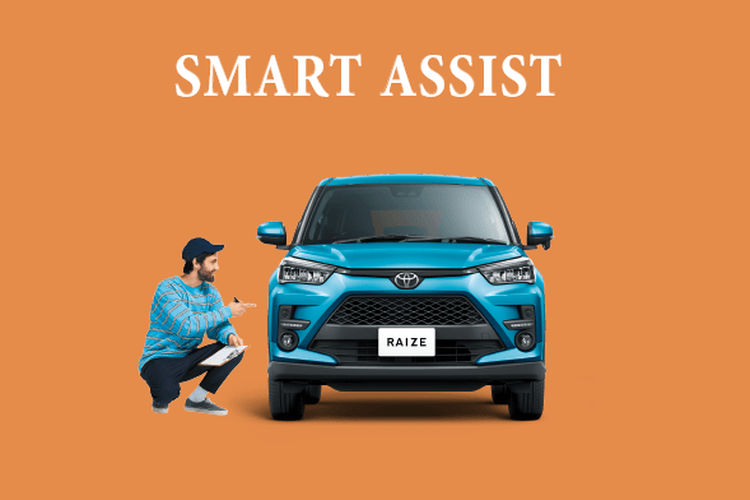 Fitur smart assist Toyota Raize