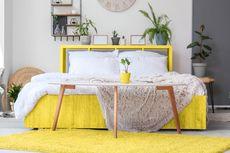6 Ide Menghadirkan Warna Kuning di Kamar Tidur