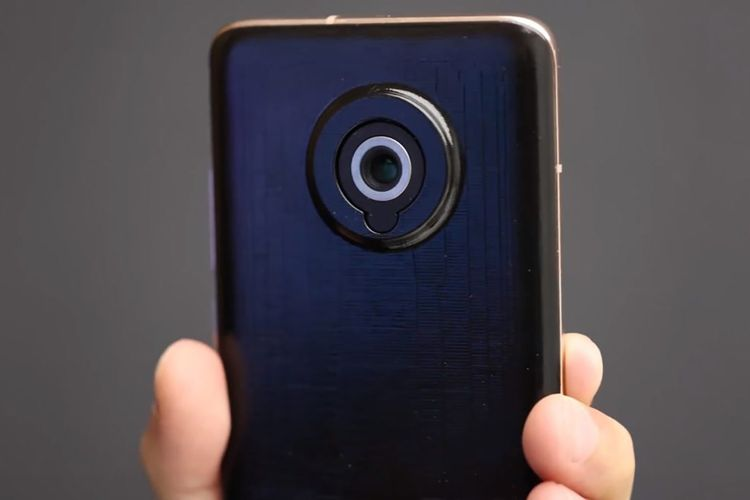 Purwarupa perangkat ponsel dengan kamera telescopic dari Xiaomi