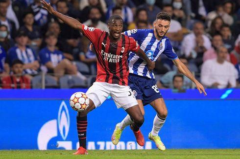 Klasemen Liga Champions: Catatan Buruk Iringi Keterpurukan Milan