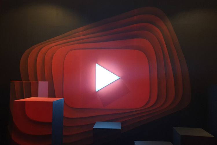 Ilustrasi YouTube Pop-up Space