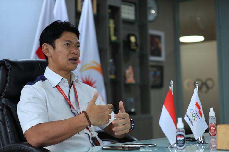 Ketua Umum Komite Olimpiade Indonesia (KOI/NOC Indonesia), Raja Sapta Oktohari.