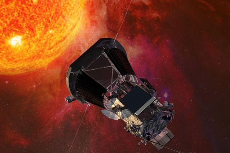 Ilustrasi Parker Solar Probe