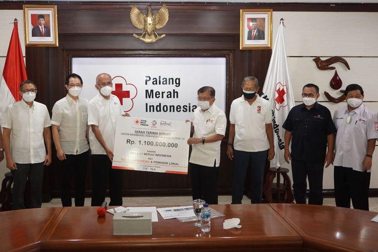 Toyota Indonesia dan Palang Merah Indonesia