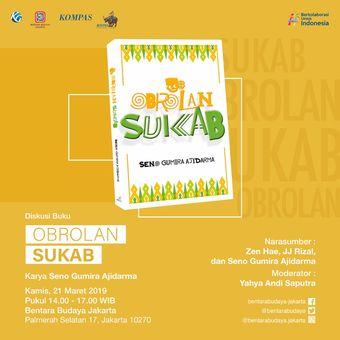 E-poster bedah buku Obrolan Sukab