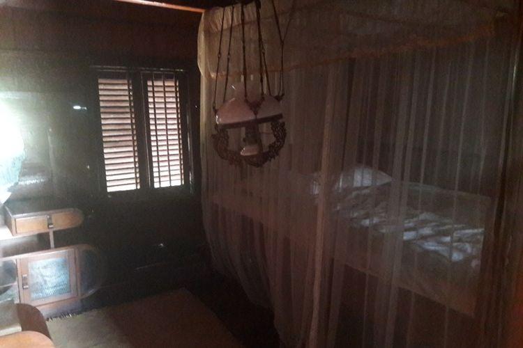 Bagian kamar tidur di Rumah Si Pitung, Marunda, Jakarta Utara