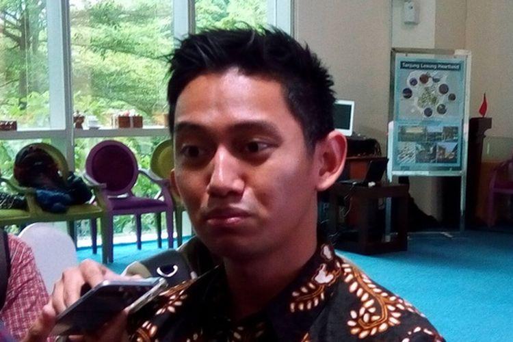 CEO ruangguru.com Adamas Belva Devara. Laman ruangguru.com adalah perusahaan Indonesia yang berfokus pada layanan berbasis pendidikan.