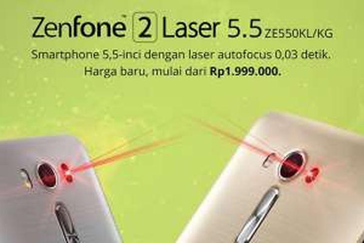 Asus Zenfone 2 Laser 5,5 inci.