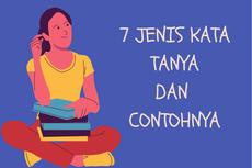 7 Jenis kata Tanya dan Contohnya