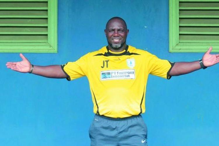 Eks pelatih Persipura Jayapura asal Brasil, Jacksen F Tiago.