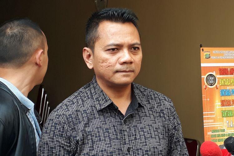 Kasat Narkoba Polres Metro Jakarta Barat, AKBP Suhermanto diabadikan di Polres Metro Jakarta Barat, Selasa (28/3/2017).
