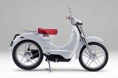 Honda Kembangkan Motor Bebek Super Cub Versi Elektrik