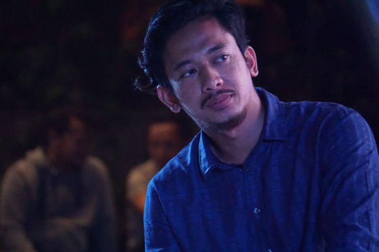 Reza Nurhilman, pemilik merek keripik pedas Maicih, ketika menjadi pembicara di acara Roadshow The Big Start Indonesia Season 3 Blibli.com di kawasan Cihampelas, Bandung, Sabtu (21/7/2018).