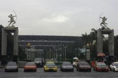 Polisi Tilang Belasan Pebalap Mobil Liar di Senayan, Denda Rp 3 Juta