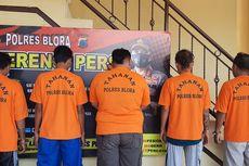 5 Tersangka Aksi Premanisme di Pasar Jepon Blora Terancam Penjara 9 Tahun