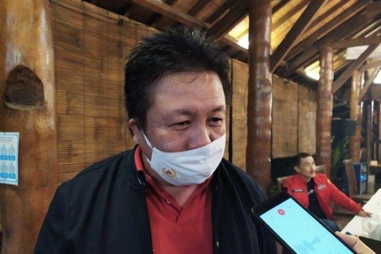 Ketua DPRD Kota Salatiga Dance Ishak Palit.