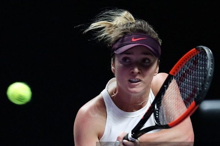 Ashleigh Barty di Final WTA 2019