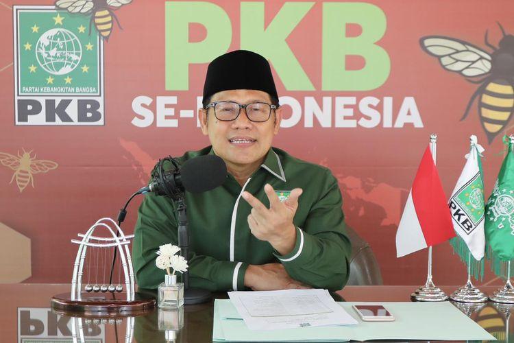 Ketua Umum DPP Partai Kebangkitan Bangsa (PKB) Abdul Muhaimin Iskandar.