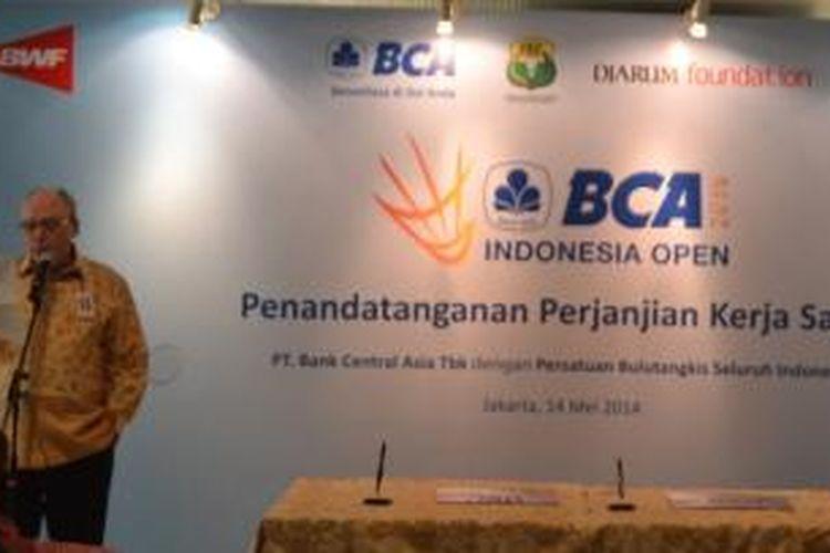 Peresmian penggunaan nama BCA untuk