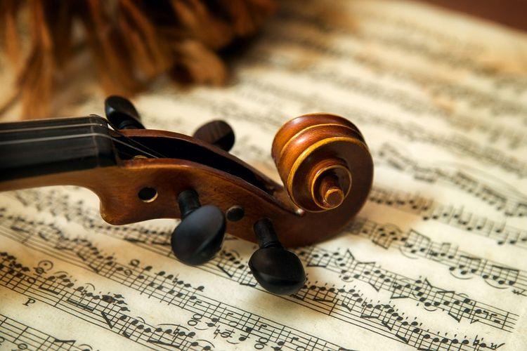 Ilustrasi Musik Klasik.