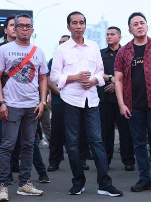 Presiden Joko Widodo saat menghadiri acara We The Fest 2018 di Jakarta beberapa waktu lalu.